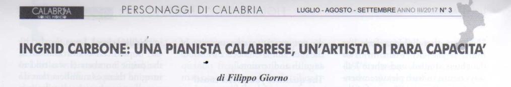 A Calabrian pianist, an artist of rare ability – Calabria nel Mondo